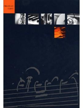 I MUSICALI CURCI NERO E ARANCIO 12 PENTAGRAMMI