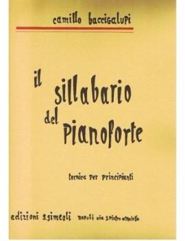 IL SILLABARIO DEL PIANOFORTE - BACCIGALUPPI