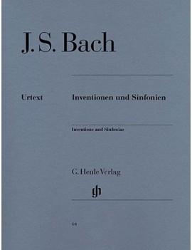 Inventionen Und Sinfonien BWV772-801 J.S. Bach - Partitura per pianoforte