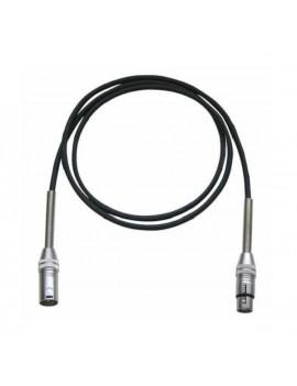IROMB600P  cavo microfonico XLR M XLR F 6mt nero