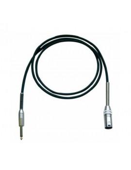 IROMM600P Cavo microfonco xlr jack 6mt nero