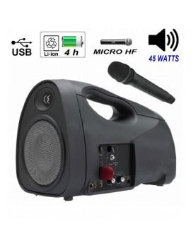 JOGGER50 Diffusore USB e radiomicrofono