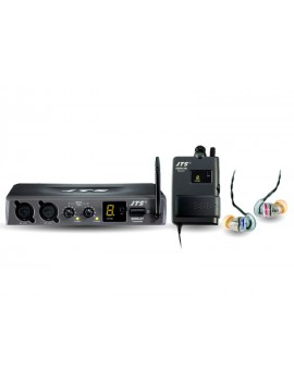 JTS SIEM-2T/SIEM-2R+IE1 UHF IN EAR MONITORING SYSTEM 638-662MHZ