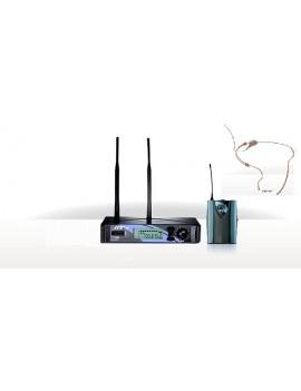 JTS US1000D/PT990B+ CM201F + CM214F SISTEMA UHF PLL 740-764MHz