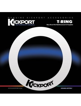 KICKPORT  T-RING  rinforzo ANELLO BLACK