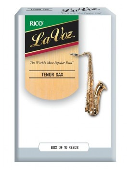 La Voz® Sax Tenore - medium/Soft - (conf. da 10)