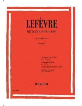 LEFEVRE J.X. METODO PER CLARINETTO VOL 1