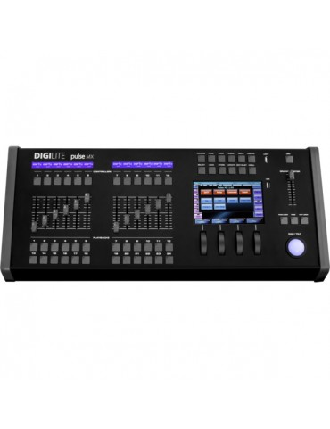 LIGHT CONSOLE 3072 DMX 7 TOUCH DISPLAY SMPTE/MIDI INPUT