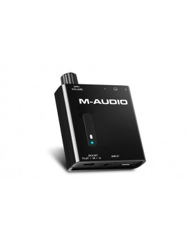 M-AUDIO BASS TRAVELER NEW Amplificatore per due cuffie