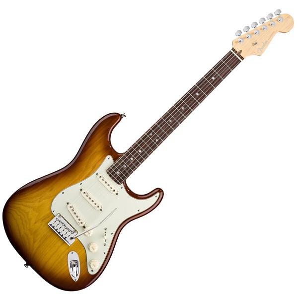 American Deluxe Stratocaster® Ash, Rosewood Fingerboard, TobaccoSunburst