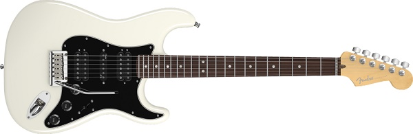 American Deluxe Stratocaster® HSH, Rosewood Fingerboard, OlympicPearl