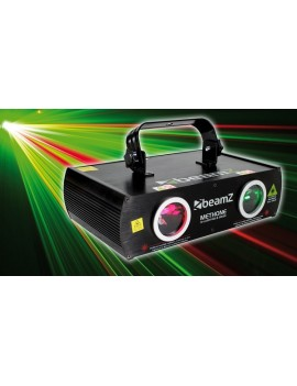 Methone 3D Laser R&G 2 way DMX