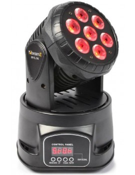 MHL74 Mini Moving Head Wash 7X 10W DMX