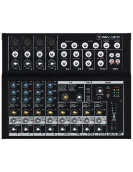 MIX12FX MIXER MACKIE  a 12 canali, 4 preamplificatori microfonici, con Effetti
