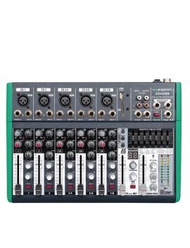 Mixer compatto 8 canali dsp BLUETOOTH
