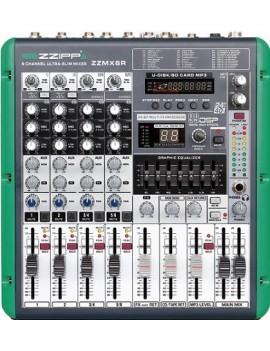 Mixer prof 6 canali con multieffetto dsp