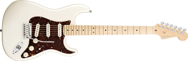 American Deluxe Stratocaster® Maple Fingerboard, Olympic Pearl