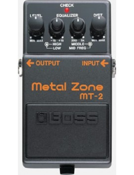MT-2 METAL ZONE - DISTORSORE + EQUALIZZATORE
