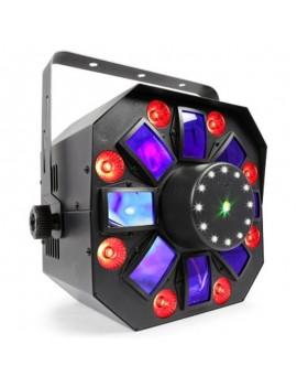 MultiAcis IV LED con laser e strobo