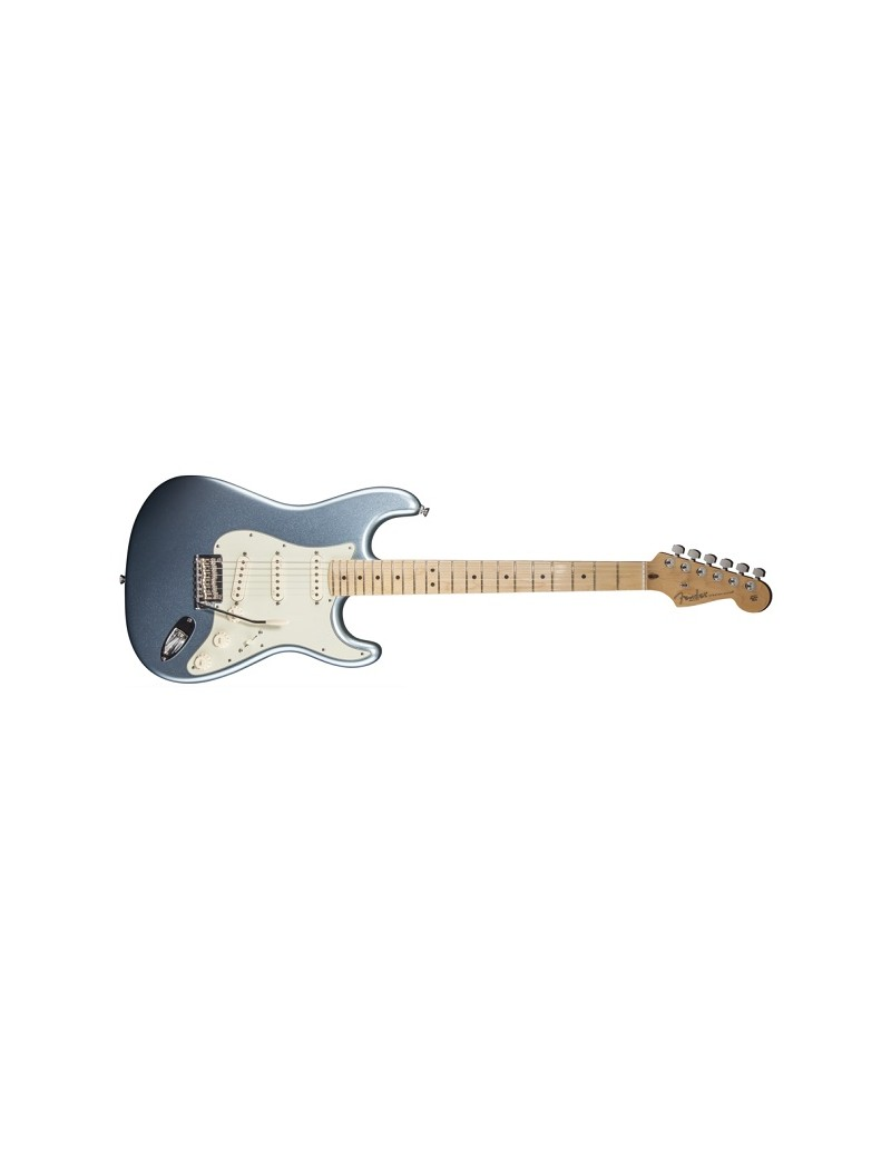 American Deluxe Stratocaster® Plus, Maple Fingerboard, Mystic Ice Blue