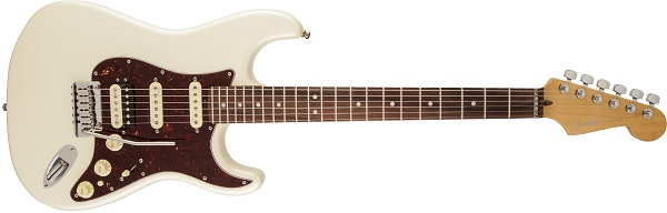 American Deluxe Stratocaster® Rosewood Fingerboard, Olympic Pearl