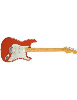 American Deluxe Stratocaster® V Neck, Maple Fingerboard, Fiesta Red