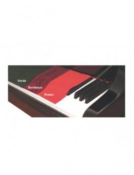 PANNO COPRITAST PER PIANO IN VELLUTOBORDEAUX