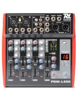 PDM-L405 MIXER 4 CHANNEL MP3/ECHO