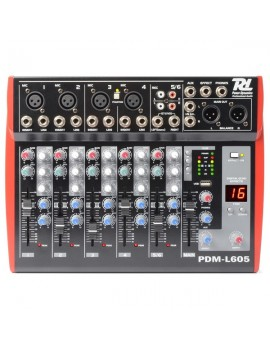 PDM-L605 MIXER 6 CHANNEL MP3/ECHO
