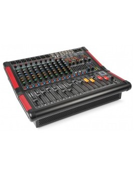 PDM-S1204A 12-Channel Stage Mixer with Amplifier