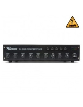 PDV120Z 120W/100V 4-Zone Amplifier
