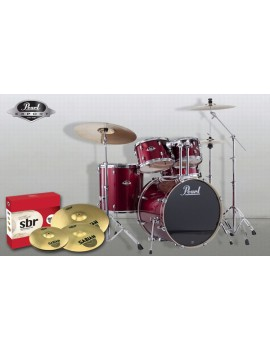 Pearl Export Exx 5 pz. C/91 Red Wine con set piatti