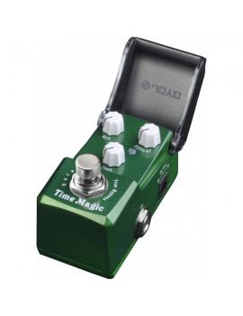 Pedale modello JF-304 Time Magic Serie Ironman. Delay di suono analogico.