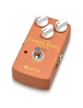 Pedale modello JF-36 Sweet Baby Overdrive. Overdrive a elevato guadagno. True Bypass.