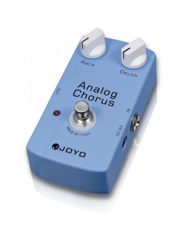 Pedale modello JF-37 Analog Chorus. Tono creato a partire dal chip BBD. True Bypass