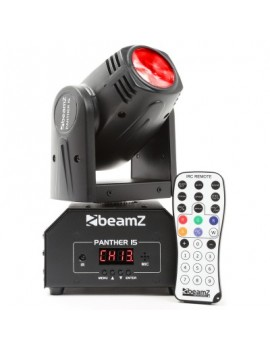 PHANTER 15 LED BEAM TESTA MOBILE