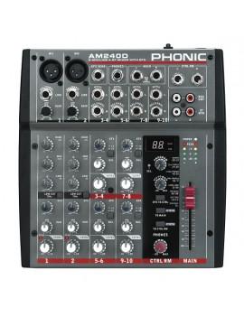 PHONIC AM240D MIXER 2MIC/LINE 4ST. CON DFX