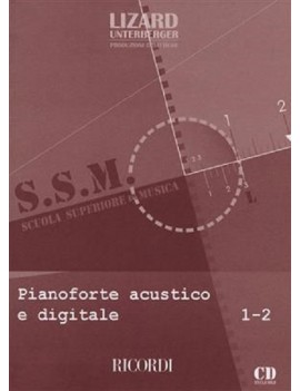 PIANOFORTE ACUSTICO E DIGITALE VOLUME 1-2