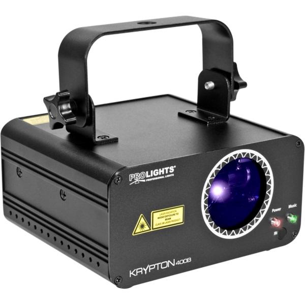 Piettore Laser Blu 400mw DMX