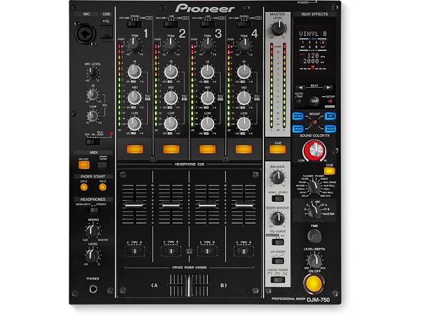 PIONEER DIGITAL MIXER 4 CH