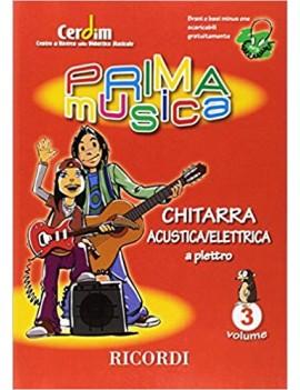 Primamusica : Chitarra Acustica/Elettrica  Vol.3