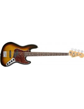 Reggie Hamilton Jazz Bass® Rosewood Fingerboard, 3-Color Sunburst