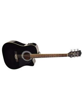 Richwood RD-12-CEBK Dreadnought Nera (con preamplificatore)