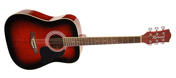 Richwood RD-12-RS Dreadnought - Rosso Sfumato