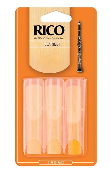 RICO CLARINETTO ALTO TENSIONE 2 (BOX DA 3)