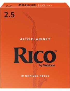 RICO CLARINETTO ALTO TENSIONE 2.5 (BOX DA 10)