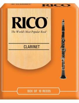 RICO CLARINETTO SIB TENSIONE 2,5 (BOX DA 10)