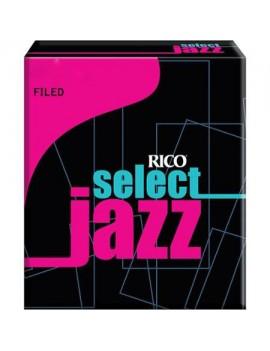 Rico Select Jazz (con taglio) per SAX ALTO tensione 3M (conf. da 10)