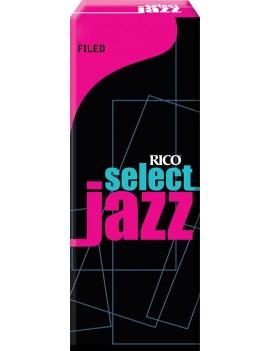 Rico Select Jazz (con taglio) per SAX BARITONO tensione 4M (conf. da 5)