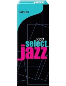 Rico Select Jazz (senza taglio) per SAX BARITONO tensione 2M (conf. da 5)